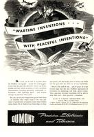 Wartime inventions with peaceful intentions