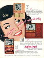 "3 ""Looks"" tell why Admiral is your best TV buy"