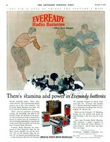There's stamina and power in Eveready batteries