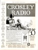 Don't miss the good things...This single dial control radio