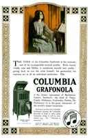 The tone of the Columbia Grafonola is the supreme test of its incomparable...