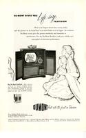 Dumont gives you life size television