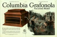 Columbia Grafonola Vacation model