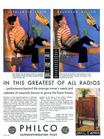 In this greatest of all radios...