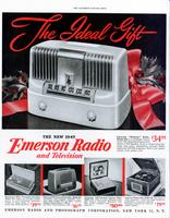 The new 1949 Emerson radio and television