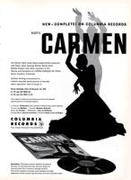 New complete on Columbia Records : Bizet's Carmen