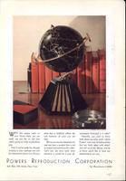Powers reproduction -- Colonial globe