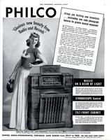 Philco...glorious new beauty from radio and records