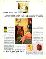 General Motors radio...in nine superb models with one standard of quality