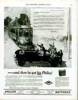 And then he got his Philco! [Mr. P.A.D.]
