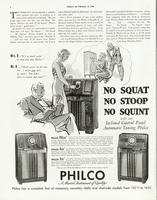 "Mrs. B...""It's so much easier to tune this new Philco!"""