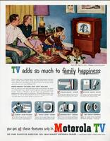 TV adds so much to family happiness