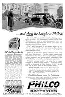 And then he bought a Philco! No more helpless, embarrassing, humiliating experiences in traffic.