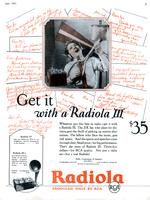 Get it with a Radiola III