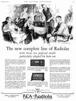 The new complete line of Radiolas