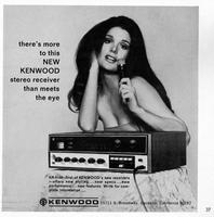 There's more to this new Kenwood stereo receiver than meets the eye