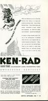 From here to here. Ken-Rad radio tubes