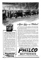After this - a Philco! Winter's no time for weak, crippled or under-powered batteries!