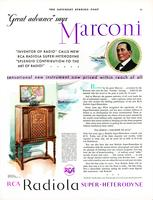 """Great advance"" says Marconi"