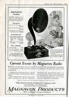 Current events by Magnavox radio