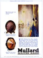 Every Mullard pure music speaker reproduces with such extraordinary realism..