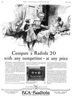 Compare a Radiola 20 with any competitor at any price