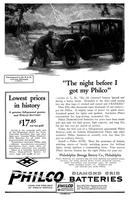 The night before I got my Philco! [Mr. G.L.M.]