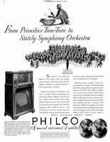 From primitive Tom-Tom to stately symphony orchestra