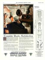 Complete radio satisfaction. Radio sets are being bought today in much the same..