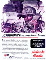 "The ""fightingest"" radio in the Armed Services"
