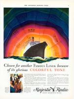 Chosen for another famous liner because of its glorious colorful tone