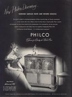 New Philco discovery...banishes surface noise and record scratch