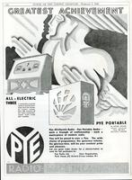 All-Electric Three and Pye Portable