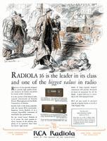 Radiola 16 is the leader in its class and one of the biggest values in radio
