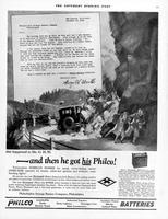 And then he got his Philco! [Mr. G.H.W.]