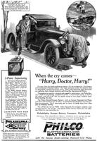 "When the cry comes - ""Hurry Doctor, Hurry!"" [Dr. J.C.S.]"