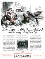 The dependable Radiola 20 enriches every side of farm life