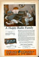 A happy radio family
