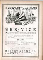 Mozart baby grand : Service