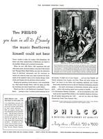 Thru Philco you hear in all it's beauty the music Beethoven himself could not hear