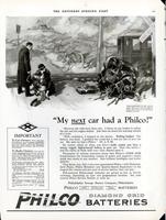 My next car had a Philco! [Dr. J.S.M.]