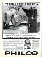 World's first transistor portable TV
