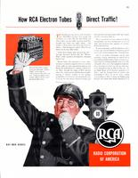 How RCA electron tubes direct traffic