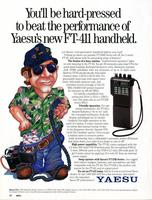 You'll be hard pressed to beat the performance of Yaesu's new FT-411 handheld
