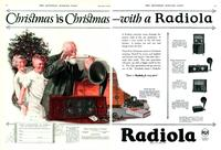 Christmas is Christmas--with a Radiola