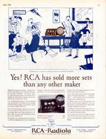 Yes! RCA has sold more sets than any other maker