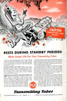 Rests during standby periods mean longer life for your transmitting tubes