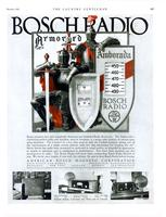 Bosch presents two new completely Armored and Shielded radio receivers.