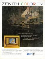 Zenith Color TV