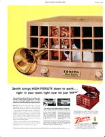 Zenith brings HIGH FIDELITY down to earth...